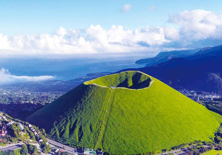 自然豊かな山々に囲まれた伊豆高原