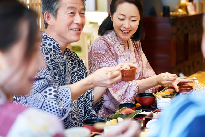 白寿・米寿など親戚の集まるご旅行